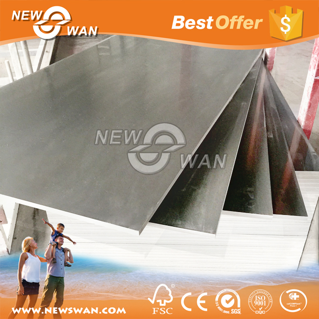 10-20mm pvc foam board / durable shuttering pvc sheet / lightweight construction materials