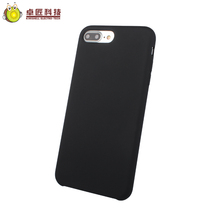 Hybrid armor case for iphone 7 case oem silicone,for iphone 7 360 3d bumper case black
