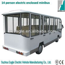 14 seats electric city bus, EG6158KF02,48V/5KW Sepex,CE approved