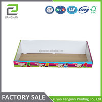 made in zhejiang super quality oem cardboard cd display stand