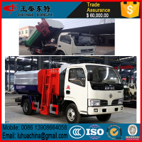 FOTON 4x2 light hang barrel type tipper garbage truck,garbage collector truck,garbage disposal truck