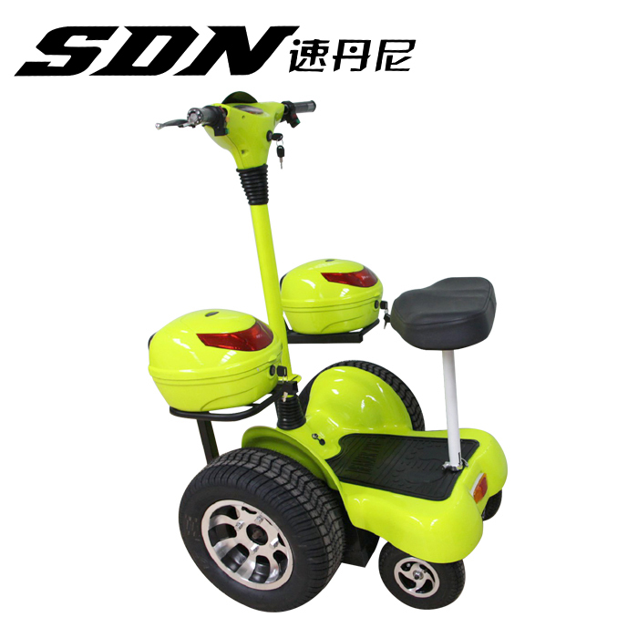 china 4 wheeler electric scooter balance scooter electrical golf cart 4 wheeler stand up standing scooter 1000W