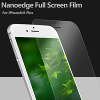 for Iphone 7 anti shock Full cover screen protector film 100% full size screen guard