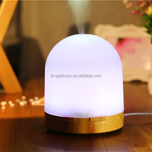 Plastic Transparent 500ml Components Essential Oil Diffuser for Desk Lamp Fuction Ultrasonic Aroma Diffuser
