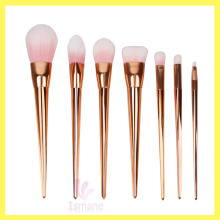 Alibaba Cheap 7pcs elegant style plastic handle beauty needs cosmetic brushes professional makeup brushes set
