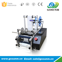 semi-automaitc plastic jar/can/glass round bottle labeling machine/sticker labeling machine