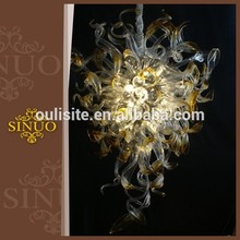 2014 Hot sell new design plastic crystal chandeliers