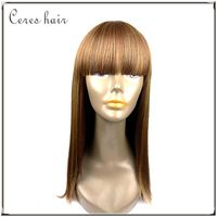 High temperature resistant Synthetic lace front wig orange blond color synthetic wig at wholesale price best selling wig
