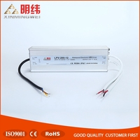 Factory Price Single Output Type LPV-200-12 12V 16.5A Switch Power Supply