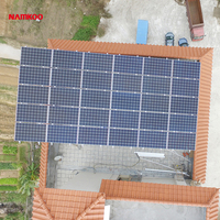 guangdong namkoo power cheap pv panel 5kw on grid solar system