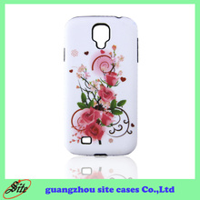 2014 newest decal cell phone combo case for virgin mobile samsung s4/i9500