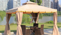 roman high quality outdoor canopy with waterproof curtain and double wave edge design cheap wedding tent