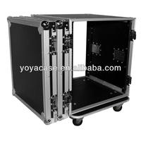 strong aluminum flight case foam padde trolley case