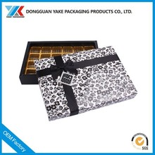 trend of chocolate paper box manufacturer /paper box design with insert