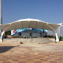 Cheap membrane tensile fabric structure sunshade