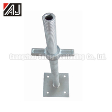 Scaffolding Adjustable Screw Base Jack For Uneven Road Surface