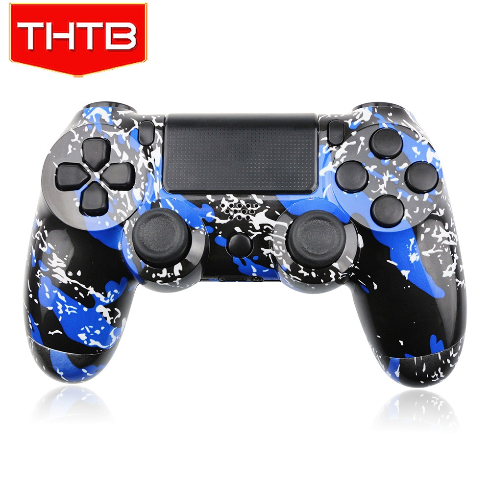 High quality hydro dipped blue splash housing case for ps4 controller
