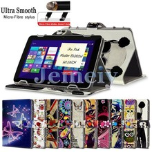 "Hot! For iRu Pad Master B1002W 10.1"" Fashion Pattern Printed PU leather Stand Cover, Magnetic Flip Universal Tablet Case 10 inch"