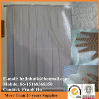 Polyester Lace Curtains With Lining In Taffeta