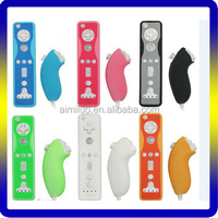 Grip Silicone Skin Case for Nintendo Wii Remote & Nunchuck