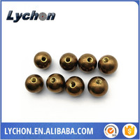customized 5mm to 30mm high quality 8mm 10mm 12mm drilled machining brass balls