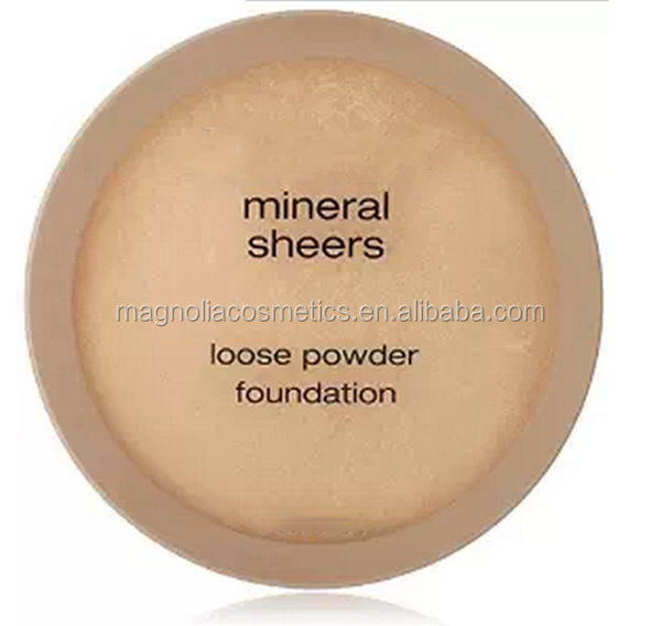 Natural Mineral Sheers Loose Powder Foundation Without Talc