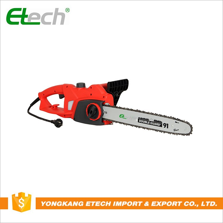 Cordless electricity 2000w electric chain saw