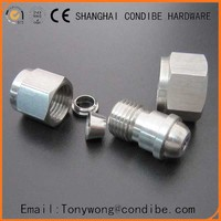 Condibe 304 stainless steel Cylinder ferrule union