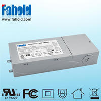 UL FCC 45W 347V 1050mA constant current led driver 0-10V dimmable with 5years warranty