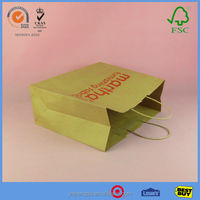 Top Quality Manufacturer Large Brown Paper Bags With Fashion Design