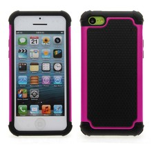 Dual layer armor Protective Hard case cover For iPhone 5 5S 5C