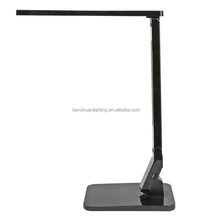 Modern popular adjustable touch dimmable LED desk lamp with USB port,auto timer, four modes for reading/study/work/relaxing