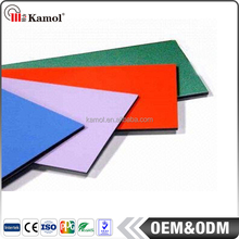 Best Selling aluminum composite panels red alucobond PE/PVDF coating acp sound insulation