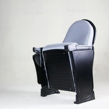 LK Style Auditorium Folding Chair WIth Writing Table Luxury Design Church Seat