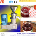 Vertical Colloid Mill Industrial Fruit Jam Making Machine