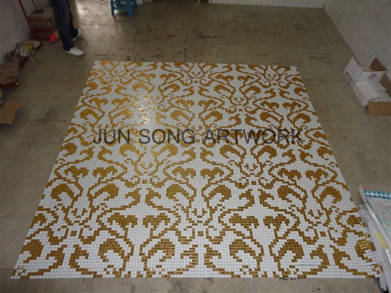 MP-DA02-B Golden Backsplash Design Premium Mosaics Vintage Tile Bathroom Tiles Mosaic