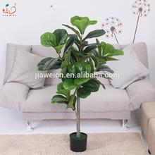 decorative artificial fiddle plant mini plastic plants and trees trunk