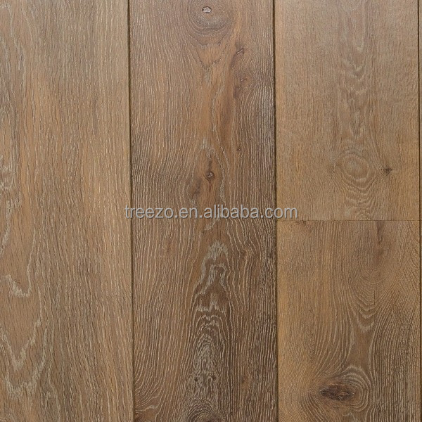 Oak flooring wide plank factory supply