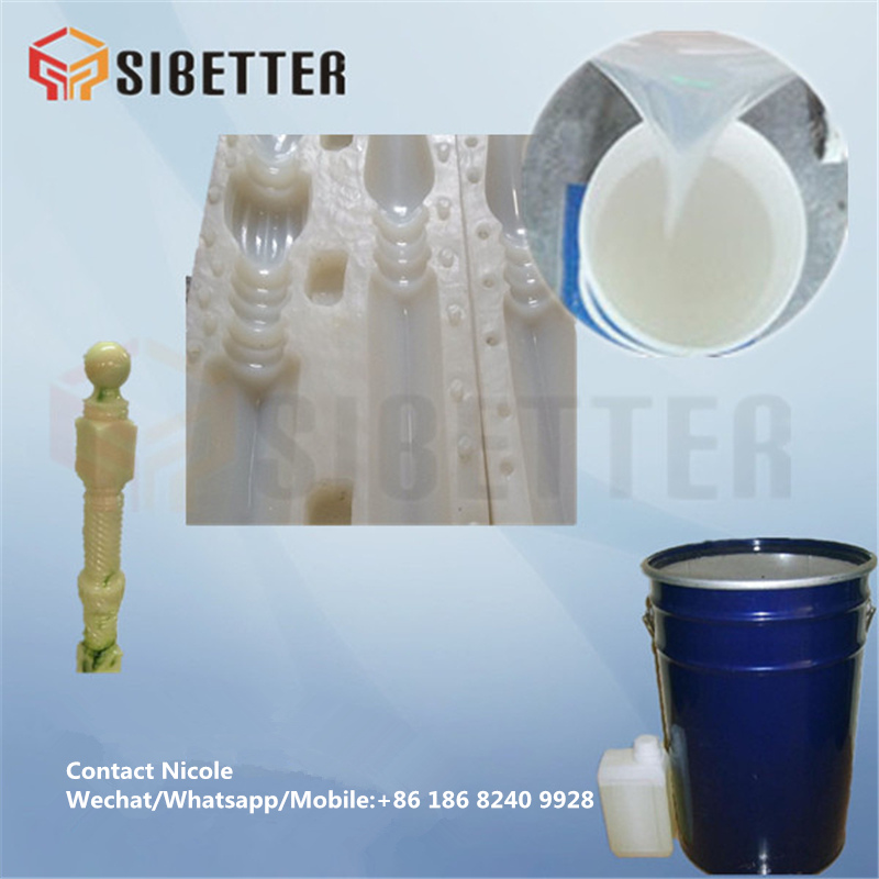 Concrete Molding Silicone for Baluster Mold, Liquid RTV Silicone