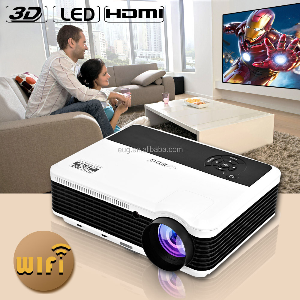Android Projector Led 3500Lumens, Dual Core, Miracast, DLNA YouTube, Google play