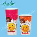 disposable printed paper cup colourful