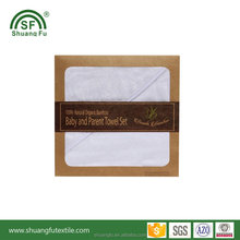 Boxed gift bamboo baby hooded towel