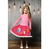 Wholesale Girl Boutique Red Dress Kids