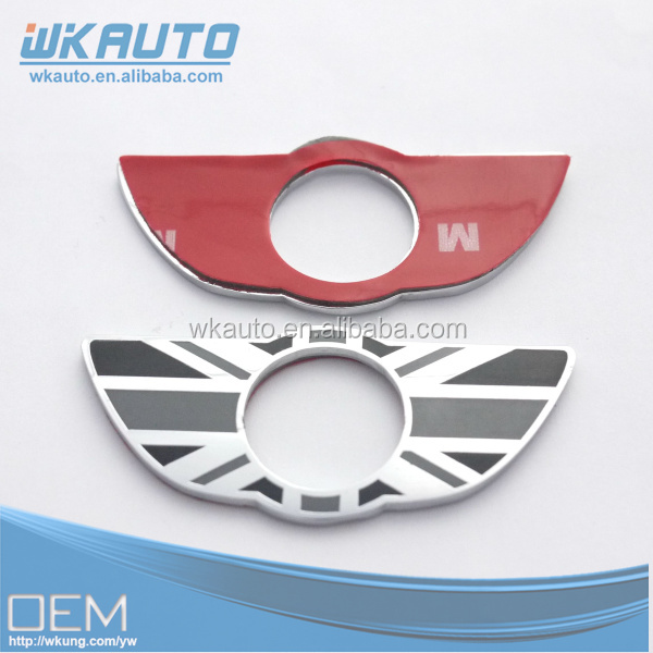high quality MINI COUNTRYMAN door lock wing decoration emblems in pair