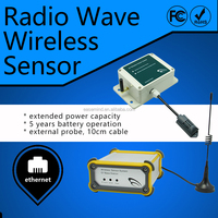Radio Wave Wireless Sensor 0-10v thermostat data logger temperature humidity usb