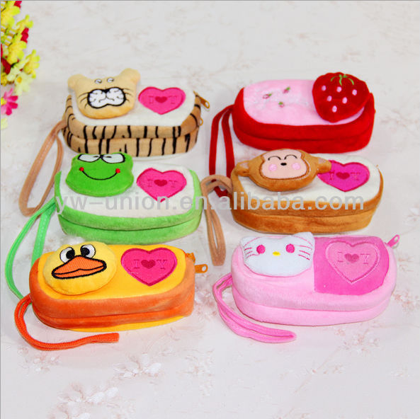 Various animal shaped cheap cute purses for girls