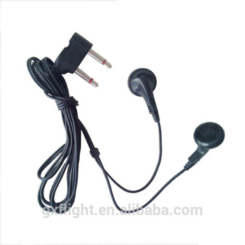 Inflight comfort long wire 1.5m disposable airline earphone