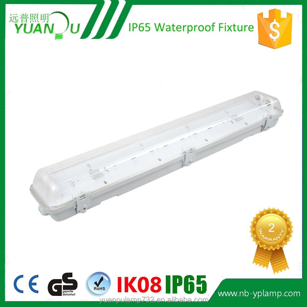 IP65 IP Rating and T8 Model Fluorescent IP65 fitting lamp