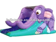 Cute elephant cheap inflatable animal slide for sale