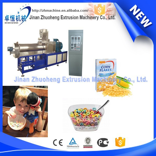 Cereal breakfast ,Corn Flakes Manufacturing Equipments